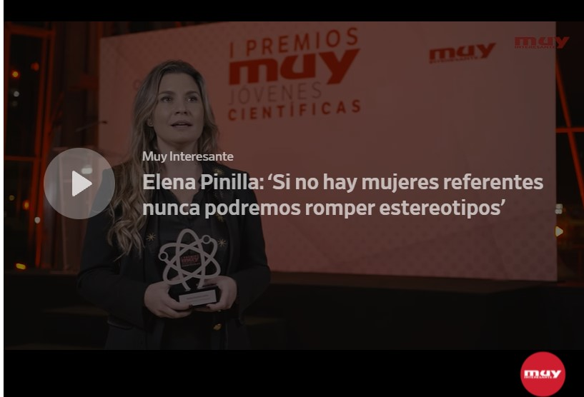 Interview with Dr. Elena Pinilla, winner of the Young Scientists Award